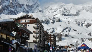 "Photo of Cervinia, ""capitale del paradiso della neve"""